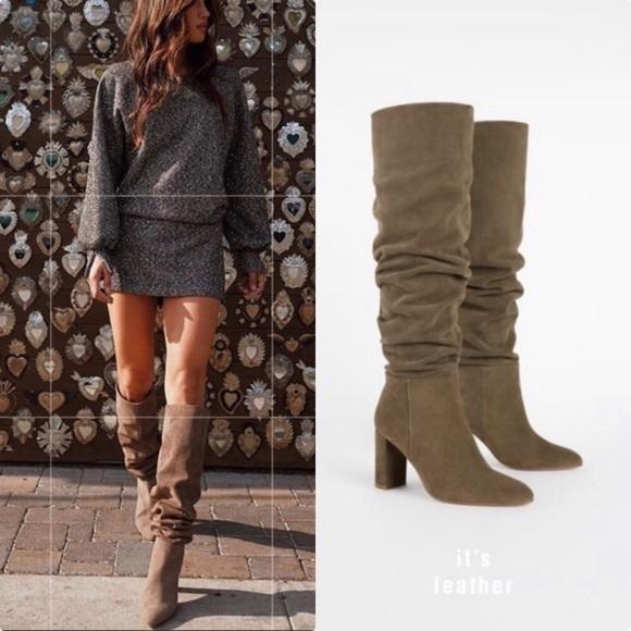 Zara Shoes | Bf Sale Zara Tall Taupe